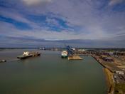 Felixstowe Docks by Drone