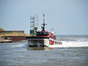 Marine traffic at Gorleston