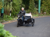 AJS Motorcycle and sidecar