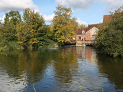 A walk around Flatford on a sunny Autumn afternoon