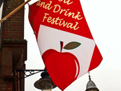 Harleston flies flags for Food Fest 7 October