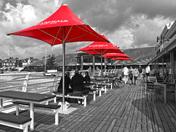 Contrast at Felixstowe Pier
