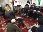 Havering Muslims Learn Life Support (CPR) Techniques.