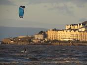 Exhilaration at high tide