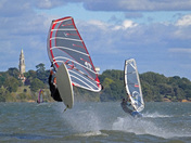Windsurfing at Bradfield :)