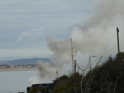 Toll Road Cafe Fire