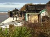 Toll Road Cafe Fire Remains