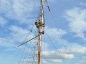 Shotley Ganges mast