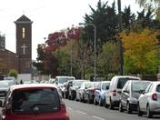 Scene of Albert road Ilford