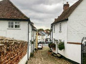The Village of Thaxted in Essex