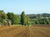 Ploughing at Layham