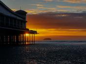 Grand Pier sunset
