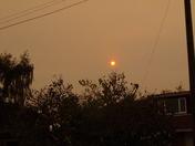 A RED SUN