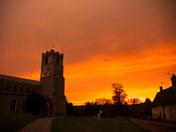 Coddenham sunset