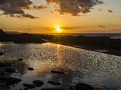 Westward Ho sunset