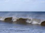 Windy on Waxham beach