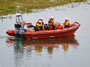 ORANGE. Lifeboat