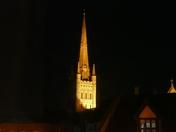 ORANGE. Cathedral At Night