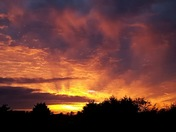 Awesome sky over Bradwell