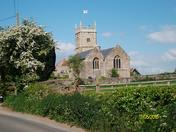 St Bridget's Church Chelvey. North Somerset.