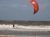 Windy Kite Surfing
