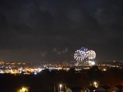 Fireworks over Weston-Super-Mare