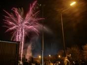 Hornets fireworks display