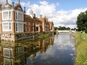 Reflection of Helmingham Hall