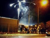Hornets fireworks