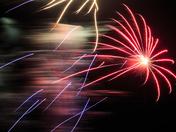 Exmouth firework display