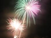 Fireworks at Exmouth Rugby Club