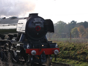 Flying Scotsman visits Suffolk