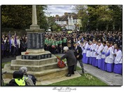 Hornchurch Remembrance sunday