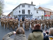 Hadleigh Remembrance day Parade 2017
