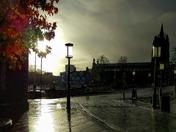 Morning sunshine after the rain