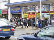 Closing Down sale at Bodgers Ilford