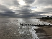 Autumn Sky over Southwold