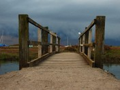 Bridge to peace and tranquillity