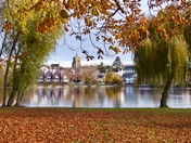 Autum view from Diss Park