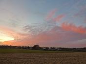 Red Sky over Baldock