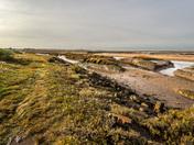 Low tide at Burnham Creek