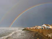 Rainbow by the sea