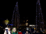 barnstaple lights switch on and fun