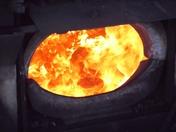 Firebox on a frosty Autumn morning