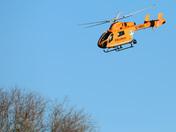Air Ambulance over Lackford