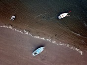 Boats of Instow by DH Drones