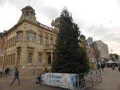 Christmas tree in Ilford High Road