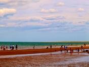 Enjoying the the Summer on the north Norfolk coast