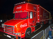 Coca Cola Truck at Asda Ipswich 01/12/2017