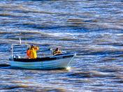 Crab boats still busy
